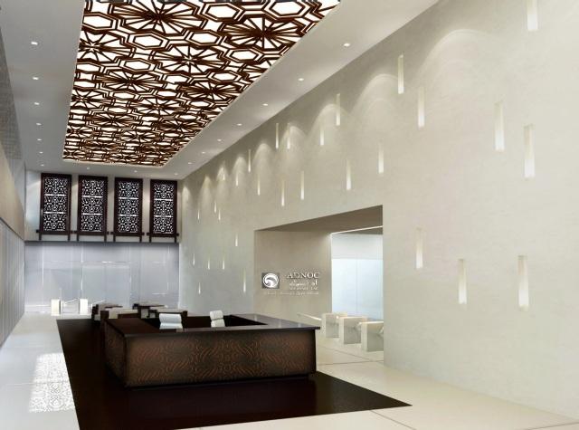 Interior Lobby Interior Channel Letter Wall Sign Custom